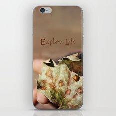 Explore Life iPhone & iPod Skin