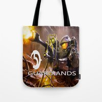 guardians Tote Bags featuring Halo5 Guardians by store2u