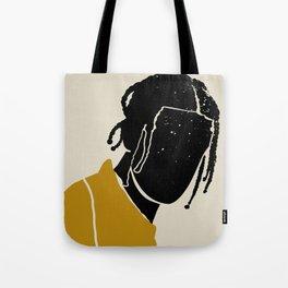 Black Hair No. 1 Tote Bag