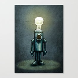 Mr. Bulb Canvas Print