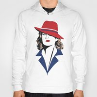 peggy carter Hoodies featuring Peggy Carter by Arne AKA Ratscape