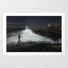 Search The Sea Art Print