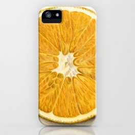Vintage Illustration of a Grapefruit iPhone Case