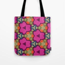 Flower-Caleidoscope Tote Bag