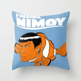 Finding Nimoy Throw Pillow