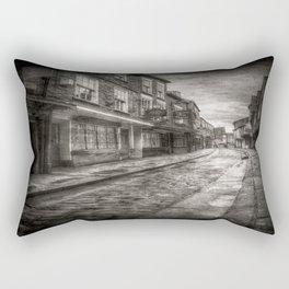 Ghostly Shambles York Vintage Rectangular Pillow