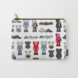Kaws Pattern Figures Carry-All Pouch