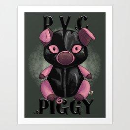 PVC Piggy Art Print