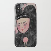 loll3 iPhone & iPod Cases featuring CuteZilla by lOll3