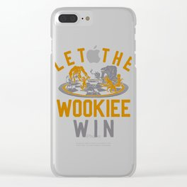 Let The Wookiee Win Clear iPhone Case