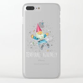 Temporal Agnomely Clear iPhone Case