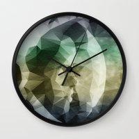 interstellar Wall Clocks featuring Interstellar by Nirvana.K