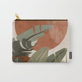 Tropical Leaf- Abstract Art 10 Carry-All Pouch