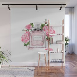 Miss pink Wall Mural