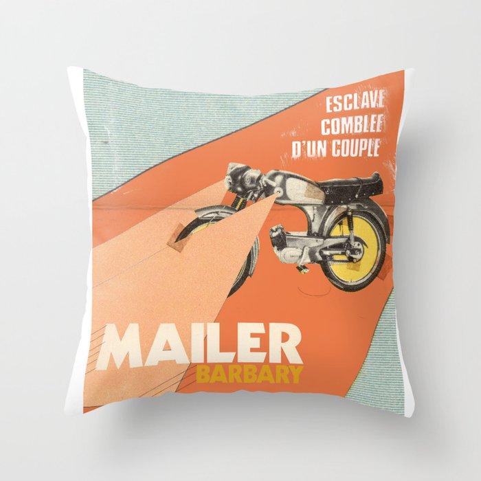 Mailer Barbary Throw Pillow