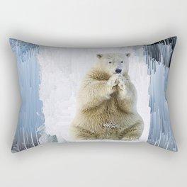 The Ice King Rectangular Pillow