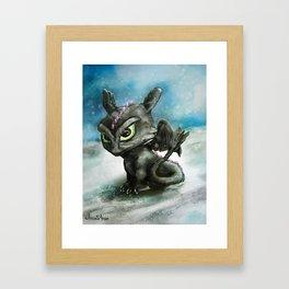 Hatchling Fury Framed Art Print