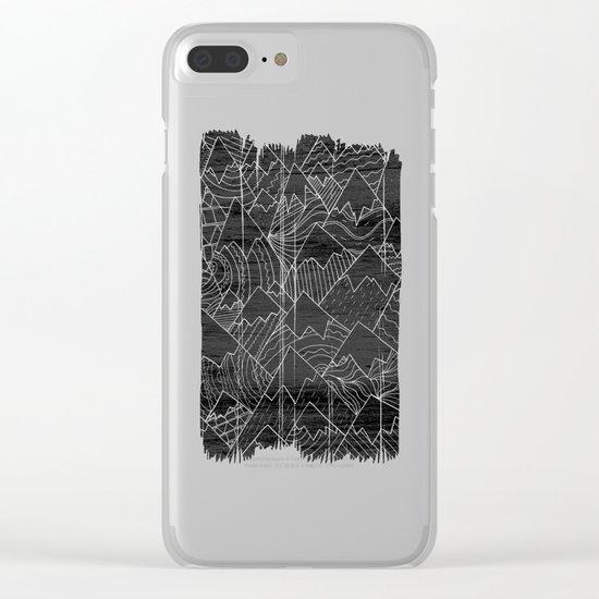 Paintbrush Mounts Clear iPhone Case