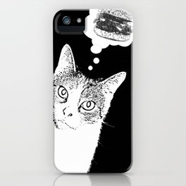 Cheeseburgers, yes please! iPhone Case