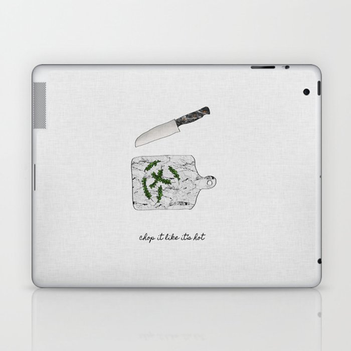 Chop It Laptop & iPad Skin