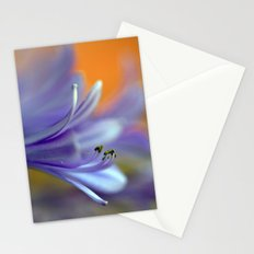 Blue Agapanthus 2786 Stationery Cards
