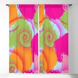 Color Splash Blackout Curtain