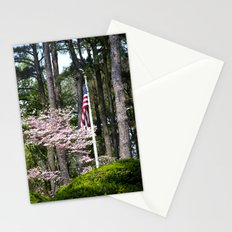 A Flag in the Forest Stationery Cards