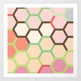 You can attract more bees with Honey Art Print