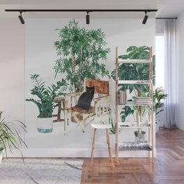 Boho Kitty Wall Mural