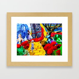 TheWizard of Oz Framed Art Print