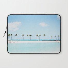 Tropical sandbar Laptop Sleeve