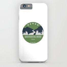 Wonderland Trail iPhone Case
