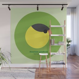 American goldfinch Wall Mural