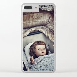 Haunted she is Clear iPhone Case