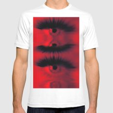 EYE AM All Seeing Mens Fitted Tee White MEDIUM