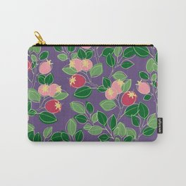 Rosehips Carry-All Pouch