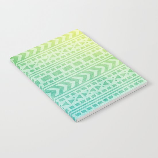 Aztec Pattern 07 Notebook