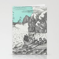 pirates Stationery Cards featuring Pirates by Zeke Tucker