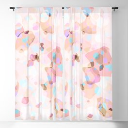 Terrazzo Crystals I. Blackout Curtain