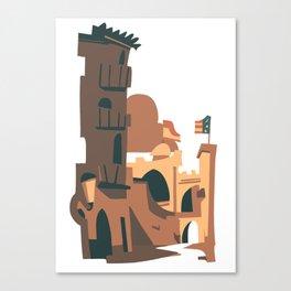 Torres de Quart Canvas Print