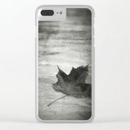 Rue Malebranche Clear iPhone Case