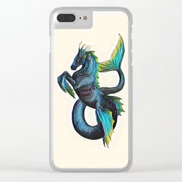 Hippocampus Clear iPhone Case