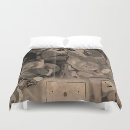 An Adventurous Tale Duvet Cover