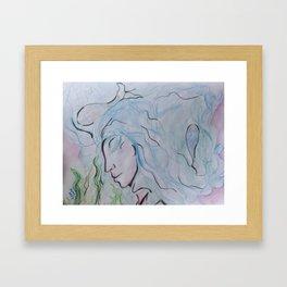 GODDESS OF LIQUID Framed Art Print