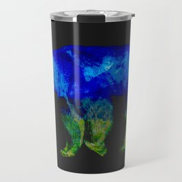 Grizzly in the Shadows Travel Mug