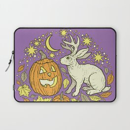 Halloween Friends | Spooky Brights Palette Laptop Sleeve