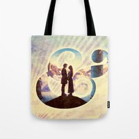 princess bride Tote Bags featuring Princess Bride by Emmy Winstead