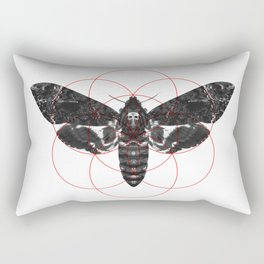 Sacred Death's-head Hawkmoth Rectangular Pillow