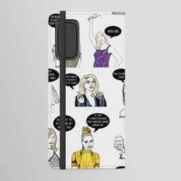 Real Housewives Drinking Android Wallet Case