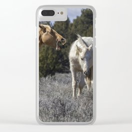 Getting an Earful from Dad Clear iPhone Case
